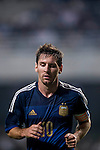 Lionel Messi of Argentina in action during the HKFA Centennial Celebration Match between Hong Kong vs Argentina at the Hong Kong Stadium on 14th October 2014 in Hong Kong, China. Photo by Aitor Alcalde / Power Sport Images