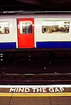 "London subway users are constantly reminded to ""mind the gap"" - the gap between the subway car and the platform."