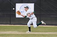 March 17, 2010:  Right Fielder Zach Heidmann (32) of North Dakota State University Bison vs. Long Island University at Lake Myrtle Park in Auburndale, FL.  Photo By Mike Janes/Four Seam Images