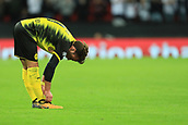 13th September 2017, Wembley Stadium, London, England; Champions League Group stage, Tottenham Hotspur versus Borussia Dortmund; A dejected Mario Gotze of Borussia Dortmund as he team slip to a 3-1 loss