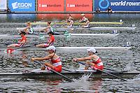 Amsterdam, NETHERLANDS, CAN BLW2X,  2011 FISA U23 World Rowing Championships, Wednesday, 20/07/2011 [Mandatory credit:  Intersport Images]