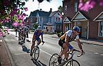 Garrett Wonders Memorial Race through Historical District in Uptown Westerville