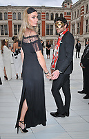 Jodie Kidd and Joseph Bates at the Cash & Rocket Masquerade Ball 2019, Victoria and Albert Museum, Cromwell Road, London, England, UK, on Wednesday 05th June 2019.<br /> CAP/CAN<br /> ©CAN/Capital Pictures