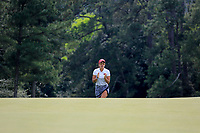 Maria Fassi (MEX) walking onto the 18th green during the final  round at the Augusta National Womans Amateur 2019, Augusta National, Augusta, Georgia, USA. 06/04/2019.<br /> Picture Fran Caffrey / Golffile.ie<br /> <br /> All photo usage must carry mandatory copyright credit (© Golffile | Fran Caffrey)