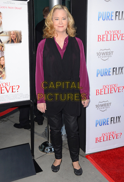 15 March 2015 - Hollywood, California - Cybil Shepard. Arrivals for the Los Angeles premiere of &quot;Do You Believe?&quot; held at ArcLight Hollywood. <br /> CAP/ADM/BT<br /> &copy;BT/ADM/Capital Pictures