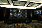 09 December 2016:  Director of Communications Dan Courtemanche makes some opening remarks. MLS Commissioner Don Garber held his annual Major League Soccer State of the League Address and press conference one day before MLS Cup 2016. The address was held in the ballroom at the Intercontinental Hotel in Toronto, Ontario in Canada.