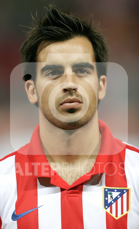 Atletico de Madrid's Jose Manuel Jurado during UEFA Champions League match. September 15, 2009. (ALTERPHOTOS/Alvaro Hernandez).