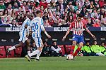 Atletico de Madrid's Rodrigo Hernandez and CD Leganes's Youssef En-Nesyri during La Liga match between Atletico de Madrid and CD Leganes at Wanda Metropolitano stadium in Madrid, Spain. March 09, 2019. (ALTERPHOTOS/A. Perez Meca)