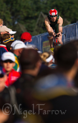 11 SEP 2011 - BEIJING, CHN - James Brodie (AUS) - 2011 ITU World Age Group Olympic Distance Triathlon Championships .(PHOTO (C) NIGEL FARROW)