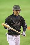Hikaru Ito (JPN), <br /> NOVEMBER 14, 2014 - Baseball : <br /> 2014 All Star Series Game 2 <br /> between Japan and MLB All Stars <br /> at Tokyo Dome in Tokyo, Japan. <br /> (Photo by YUTAKA/AFLO SPORT)[1040]