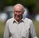 Bob Scott kicks off for the Golden Oldies game between Manurewa & Waiuku on the Pat Walsh Memorial day held at Mountfort Park Manurewa on April 5th 2008.