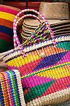 Hand Made straw baskets, San Miguel De Allende, Mexico