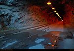 Wawona Tunnel at Dawn from Eastern Portal, Yosemite National Park