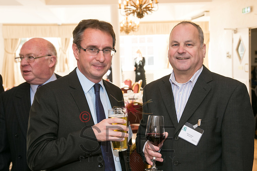 Simon Phippen (left) of Riverfall Financial and Stefan Olszok of Brools