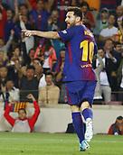 9th September 2017, Camp Nou, Barcelona, Spain; La Liga football, Barcelona versus Espanyol;  Leo Messi in action