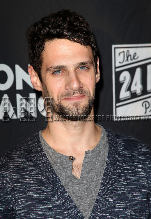Justin Bartha.attending the MONTBLANC Presents The 10th Annual Production Of The 24 Hour Plays On Broadway After Party at B.B. King in New York City