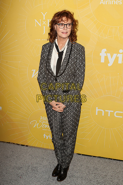 NEW YORK, NY -  APRIL 25: Susan Sarandon  attends Variety Power Of Women: New York presented by FYI at Cipriani 42nd Street on April 25, 2014 in New York City.  <br /> CAP/MPI/COR99<br /> &copy;COR99/MPI/Capital Pictures