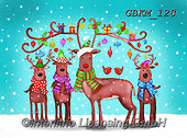 Kate, CHRISTMAS ANIMALS, WEIHNACHTEN TIERE, NAVIDAD ANIMALES, paintings+++++Christmas page 103,GBKM128,#xa#