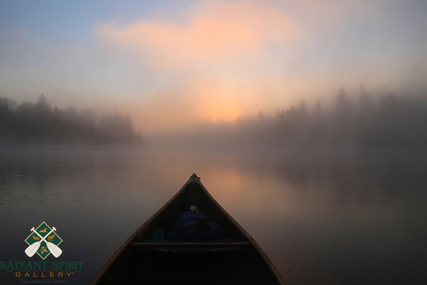 Foggy Morning Paddle<br /> <br /> Getting on the water for an early morning paddle has many rewards.