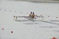 Brest, Belarus.  AUS LM2X , at the  the start.  2010. FISA U23 Championships. Thursday,  22/07/2010.  [Mandatory Credit Peter Spurrier/ Intersport Images]