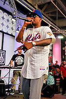 "NEW YORK - JULY 18: Rapper Nas performs during the release party for his new album ""Life is good"" at the MLB Fan Cave on July 18, 2012 in New York City. (Photo by MPI81/MediaPunchInc) /*NORTEPHOTO.COM* **CREDITO*OBLIGATORIO** *No*Venta*A*Terceros*.*No*Sale*So*third* ***No*Se*Permite*Hacer Archivo***No*Sale*So*third*©Imagenes*"