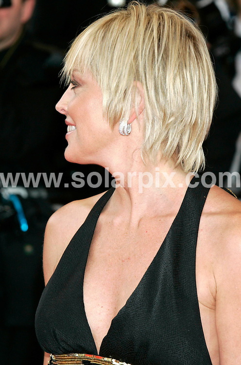 **ALL ROUND PICTURES FROM SOLARPIX.COM**.**SYNDICATION RIGHTS FOR UK AND SPAIN ONLY**.guests arrive for the premiere of 'Che' at the 61st Cannes Film Festival, Cannes, France. 21st May 2008..This pic: Sharon Stone..JOB REF: 6437 CPR/Hans Heinz   DATE: 21_05_2008.**MUST CREDIT SOLARPIX.COM OR DOUBLE FEE WILL BE CHARGED* *UNDER NO CIRCUMSTANCES IS THIS IMAGE TO BE REPRODUCED FOR ANY ONLINE EDITION WITHOUT PRIOR PERMISSION*