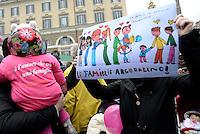 Roma, 5 Marzo 2016<br /> Famiglia arcobaleno, 2 mamme<br /> Manifestazione lgbt in Piazza del Popolo per i diritti civili per tutti e tutte, per il matrimonio equalitario e l'adozione