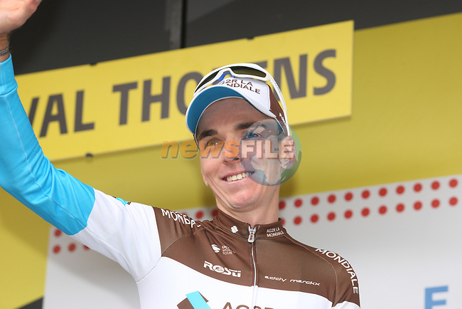 Romain Bardet (FRA) AG2R La Mondiale retains the mountains Polka Dot Jersey after Stage 20 of the 2019 Tour de France running 59.5km from Albertville to Val Thorens, France. 27th July 2019.<br /> Picture: Colin Flockton | Cyclefile<br /> All photos usage must carry mandatory copyright credit (© Cyclefile | Colin Flockton)
