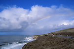 Rainbow over the Cabrillo Highway
