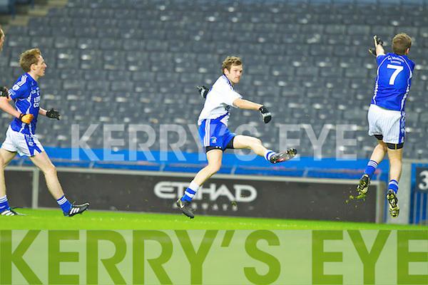 Niall O'Driscoll Saint Mary's, Cahersiveen, v Saint Mary's, Swanlinbar in the All Ireland Junior Club Championship at Croke park on Saturday evening.
