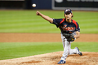 17 March 2009: #11 Yu Darvish of Japan pitches against Korea during the 2009 World Baseball Classic Pool 1 game 4 at Petco Park in San Diego, California, USA. Korea wins 4-1 over Japan.