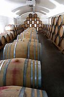 Barrel cellar. Domaine Henry Pelle, Menetou Salon, Loire, France