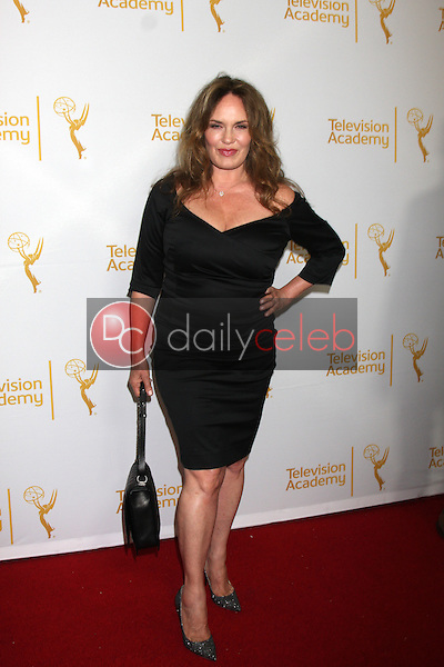 LOS ANGELES - JUN 19:  Catherine Bach at the ATAS Daytime Emmy Nominees Reception at the London Hotel on June 19, 2014 in West Hollywood, CA
