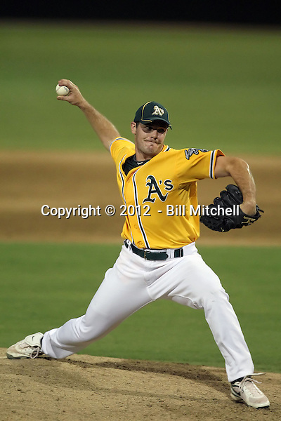 Tyler Johnson - AZL Athletics (Bill Mitchell)