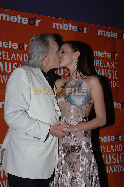 Peter Stringfellow at the 2006 Meteor Awards in Dublin....Photo NEWSFILE/Colin Bell.(Photo credit should read Colin Bell/NEWSFILE)....This Picture has been sent you under the condtions enclosed by:.Newsfile Ltd..The Studio,.Millmount Abbey,.Drogheda,.Co Meath..Ireland..Tel: +353(0)41-9871240.Fax: +353(0)41-9871260.GSM: +353(0)86-2500958.email: pictures@newsfile.ie.www.newsfile.ie.FTP: 193.120.102.198.