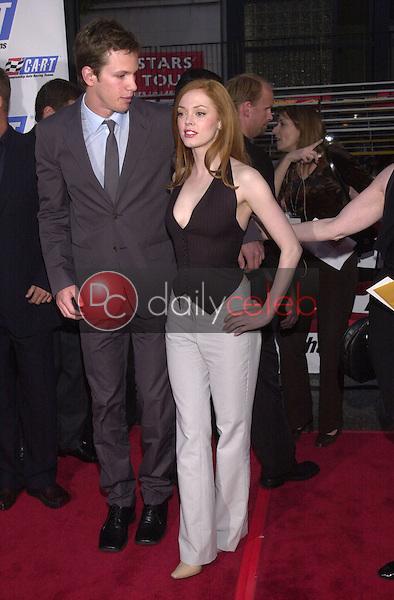 Rose McGowan and Kip Pardue