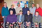 The Kerry IFA County executive meeting in the Muckross Park Hotel on Thursday night were front l-r: Florence O'Sullivan, Sean Brosnan IFA county Chairman and Denis Griffin. Back row Pat O'Shea Michael Gallivan Beaufort, James Giles, Kevin O'Sullivan Caherdaniel, Pat Talbot Killarney, Pat O'Driscoll Valentia, John O'Dwyer Killorglin