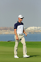 Brandon Stone (RSA) during the second round of the NBO Open played at Al Mouj Golf, Muscat, Sultanate of Oman. <br /> 16/02/2018.<br /> Picture: Golffile | Phil Inglis<br /> <br /> <br /> All photo usage must carry mandatory copyright credit (&copy; Golffile | Phil Inglis)