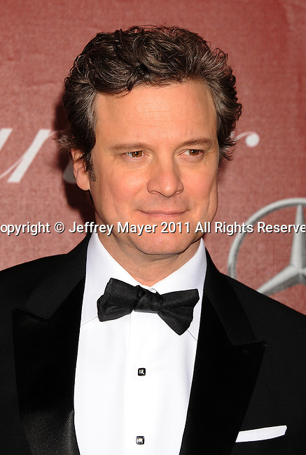 PALM SPRINGS, CA - January 08: Colin Firth attends the 22nd Annual Palm Springs International Film Festival Awards Gala at Palm Springs Convention Center on January 8, 2011 in Palm Springs, California.
