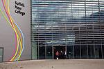 Suffolk New College building, Ipswich, Suffolk, England