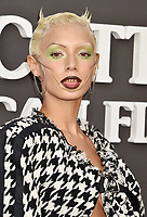 """SANTA MONICA, CA - AUGUST 27: Jazzelle attends the Travis Scott: """"Look Mom I Can Fly"""" Los Angeles Premiere at The Barker Hanger on August 27, 2019 in Santa Monica, California.<br /> CAP/ROT/TM<br /> ©TM/ROT/Capital Pictures"""