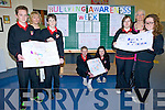SPHE teachers, Nora Flynn and Gemma Donovan, along with Guidance Counsellor, Iain Laurenson, organised a Whole School programme of events this week to highlight the very serious issue of bullying in schools and in society in general. Pictured were: Conor Shannon, Kaitlin O'Dowd, Ciarán Dowd, Amy James, Aisling O'Connor, Finn Mellon and teachers Gemma Donovan and Nora Flynn.