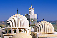 Tunisia, Le Kef.  Cupolas of Boumakhlouf Mosque, 17th. Century.