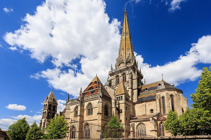 France, Saône-et-Loire (71), Autun, la cathédrale Saint-Lazare d'Autun // France, Saone et Loire, Autun, Saint Lazare Cathedral