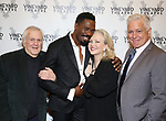 John Kander, Colman Domingo, Susan Stroman and David Thompson attends the Vineyard Theatre Gala honoring Colman Domingo at the Edison Ballroom on May 06, 2019 in New York City.
