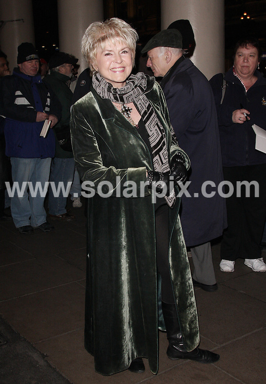 **ALL ROUND PICTURES FROM SOLARPIX.COM**                                             **WORLDWIDE SYNDICATION RIGHTS**                                                                                  Caption:  Arrivals for the Gala show of Terence Rattigan's Flare Path at the Theatre Royal Haymarket  in London UK                                                                            This pic: Gloria Hunniford                                                                                             JOB REF: 12948       LNJ       DATE:10.03.2011                                                            **MUST CREDIT SOLARPIX.COM OR DOUBLE FEE WILL BE CHARGED**                                                                      **MUST AGREE FEE BEFORE ONLINE USAGE**                               **CALL US ON: +34 952 811 768 or LOW RATE FROM UK 0844 617 7637**