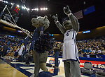 Nevada mascots perform before their game against Colorado State in an NCAA college basketball game in Reno, Nev., Sunday, Feb. 25, 2018. (AP Photo/Tom R. Smedes)