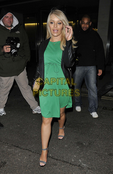 LONDON, ENGLAND - FEBRUARY 25: Katie Piper attends the Total Mink ethically produced mink fur eyelashes new line launch party, Sanctum Soho Hotel, Warwick St., on Tuesday February 25, 2014 in London, England, UK.<br /> CAP/CAN<br /> &copy;Can Nguyen/Capital Pictures
