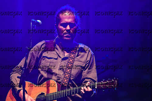 CITIZEN COPE - (real name Clarence Greenwood)  performing live at The Wiltern Theatre in Los Angeles, CA  USA - Sep 28, 2012. Photo © Kevin Estrada / Iconicpix