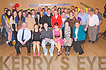 Niall O'Connell, Ballaugh, Killarney, pictured with his family and friends as he celebrated his 21st birthday in Darby O'Gills hotel, Killarney on Friday night.